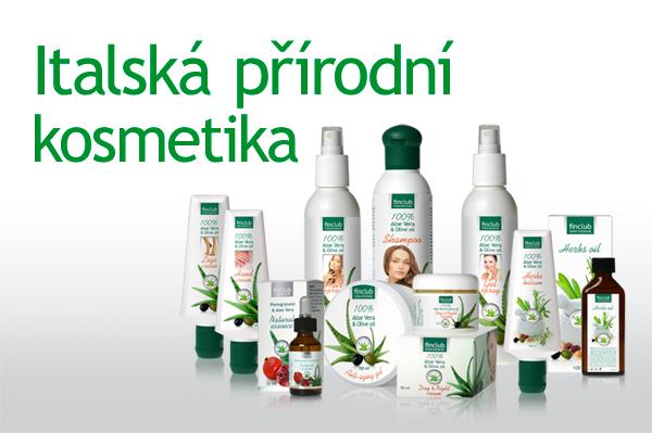 ITALSKÁ PŘÍRODNÍ KOSMETIKA - italská přírodní kosmetika obsahuje certifikované, organické suroviny, které pocházejí z ekologického zemědělstvÍ,