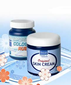original skin cream, masážní gel proti nachlazení vaporizing