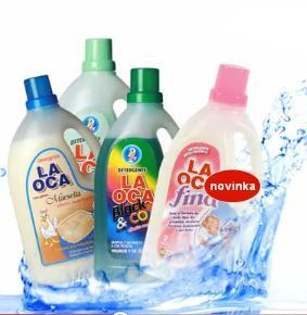 prací gely pro jemné, barevné prádlo, prací gel pro alergiky- Finclub- FCC